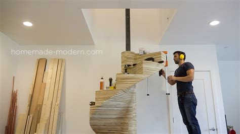 homemade modern homemade modern ep99 diy cnc spiral staircase