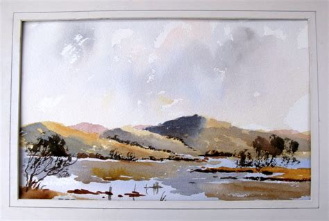 watercolor tutorial alan owen how to paint a loose landscape with alan owen youtube