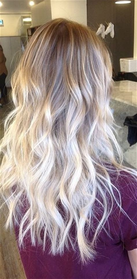 hairstyles umbre platinum platinum blonde ombre hair hairstyle gallery