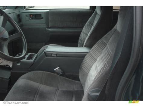 1994 S10 Interior by 1994 Forest Green Metallic Chevrolet S10 Blazer 4x4