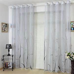 sheer curtains modern room