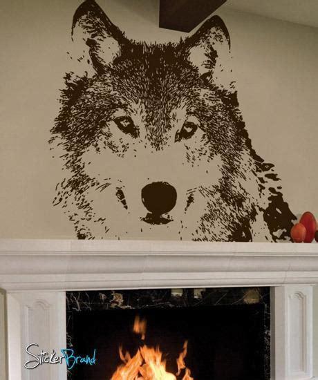 wolf wall stickers vinyl wall decal sticker wolf 521