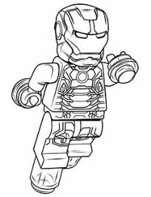 coloring pages lego iron man ironmanthumb true north bricks