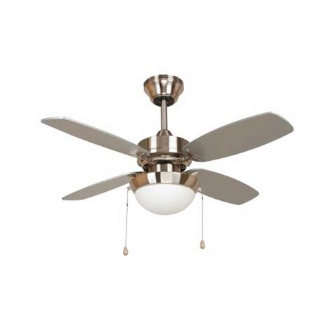 36 Inch Ceiling Fan With Light Bright Brush Nickel One Light 36 Inch Ceiling Fan Yosemite Home Decor Stem Mounted