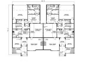 Multifamily Floor Plans by Country Creek Duplex Home Plan 055d 0865 House Plans And