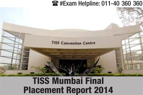 Tiss Mba Hr Fees by Tiss Mumbai Placement 2014 It Ites And