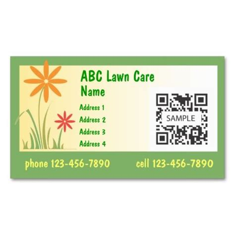 Free Nursing Card Template by 10 Images About Lawn Care Business Cards On