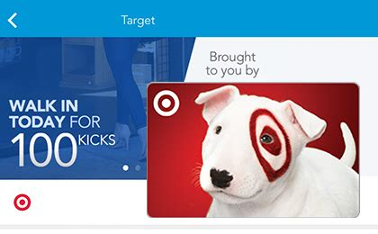 Shopkick Amazon Gift Card - 100 kicks at target 4 15 only earn free gift cards from shopkick simple coupon deals