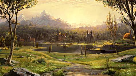 Landscape Pictures Painting Landscape Wallpapers