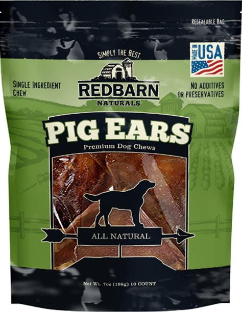 are pig ears for puppies redbarn pig ears treats 10 count chewy