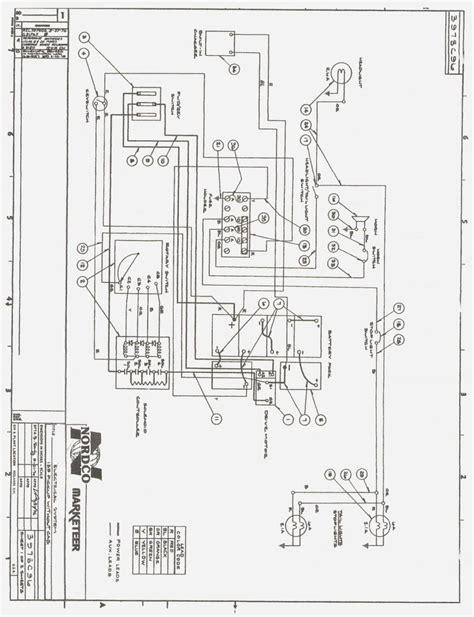 ez go electric golf cart wiring diagram in cristinalattaro
