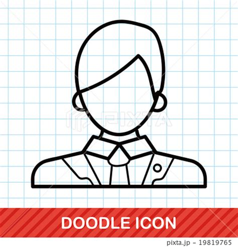 doodle lawyer lawyer doodleのイラスト素材 19819765 pixta