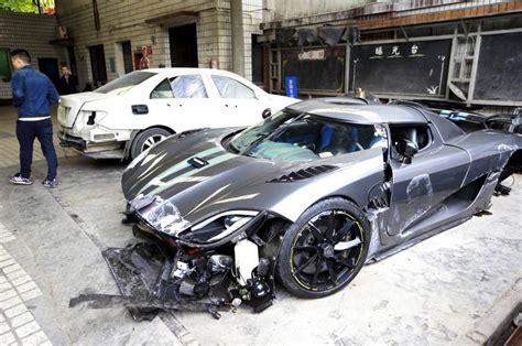 koenigsegg dallas man destroys 163 2 7m koenigsegg supercar in china s most