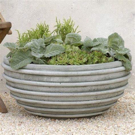 costruire vasi in cemento fioriere per esterni fioriere