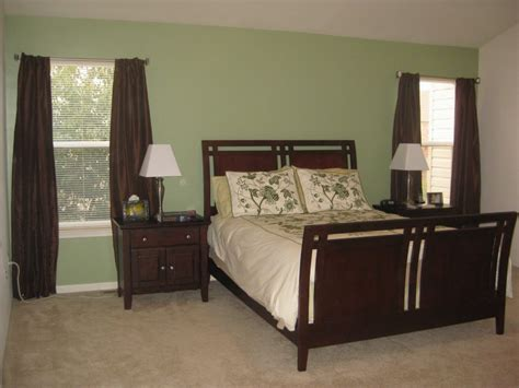 simple bedroom paint colors simple green master bedroom paint colors with wooden bunk