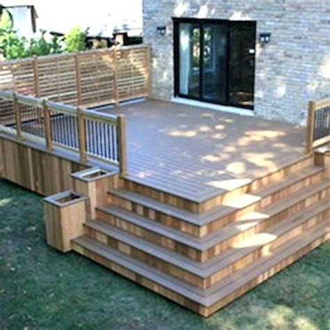 modern budget deck backyard deck ideas on a budget modern small patio ideas