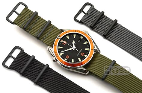 Tali Jam Tangan Nato Black Hitam 18mm Brc nato g10 straps uk superior quality pvd and