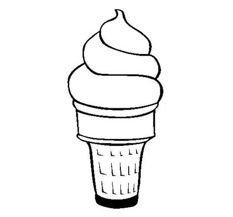 imagenes de helados kawaii para dibujar dibujo de helado blando para colorear dibujos net
