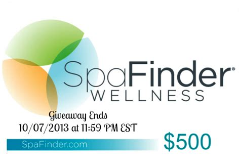 Where To Use Spafinder Gift Card - gift some relaxation to yourself 500 spafinder gift card giveaway in the kitchen