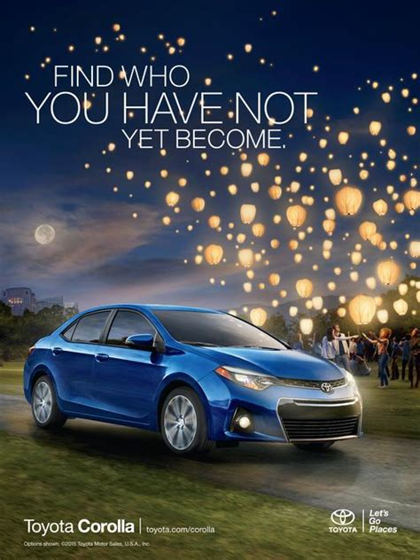 Toyota New Ad New Marketing Caign For Toyota Camry And Corolla Takes
