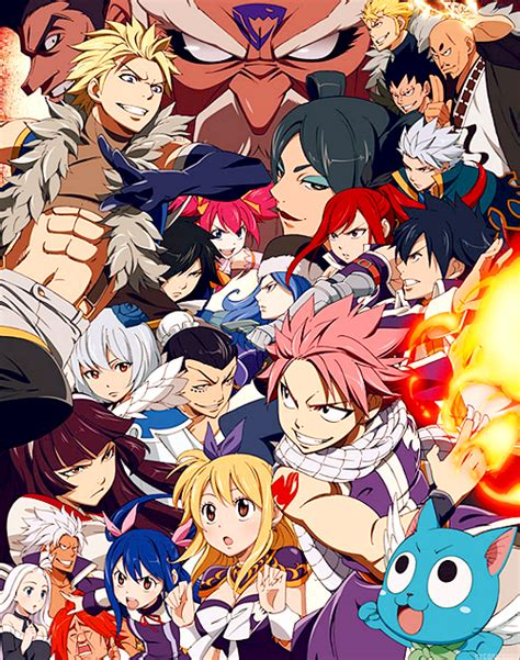 fairy tail manga but than i started yelling because they were all out and