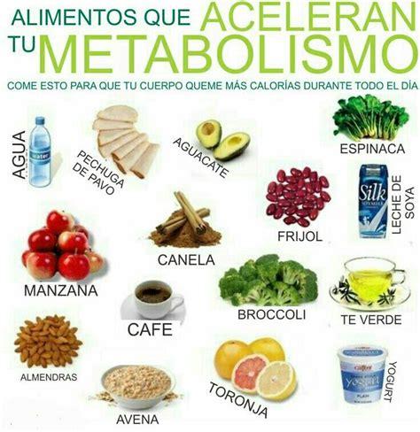 que alimentos aceleran el metabolismo 8 alimentos para acelerar el metabolismo salud food and