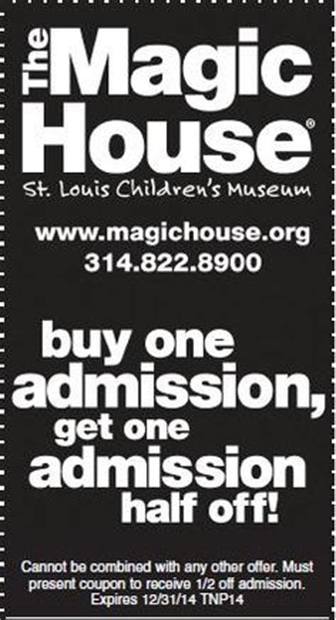 Magic House Coupons 28 Images On Cents Local Readers Magic House And Science