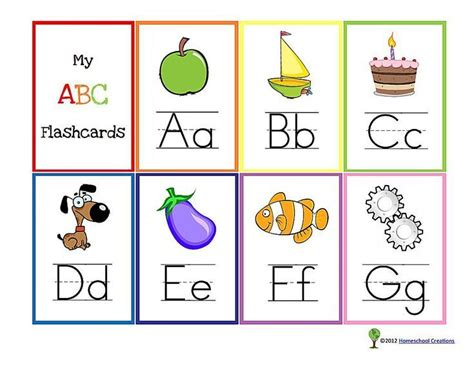 printable alphabet set 13 sets of free printable alphabet flash cards for