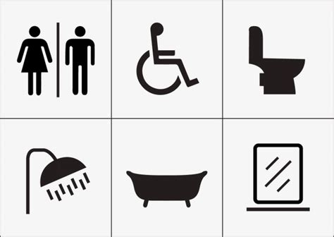download simple resume format men women disabled toilet icon vector bathroom mark png