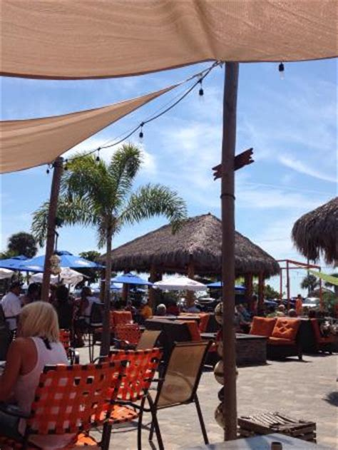 Outdoor Grill Area 5709 by Indoor Air Conditioned Tiki Bar Picture Of Flounders