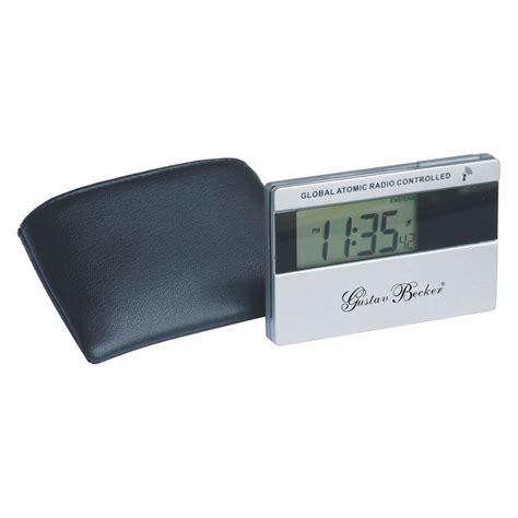 atomic travel alarm clock atomic clocks at hayneedle