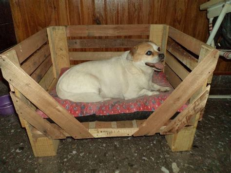 diy dog r for bed pallet dog bed pallet wood projects