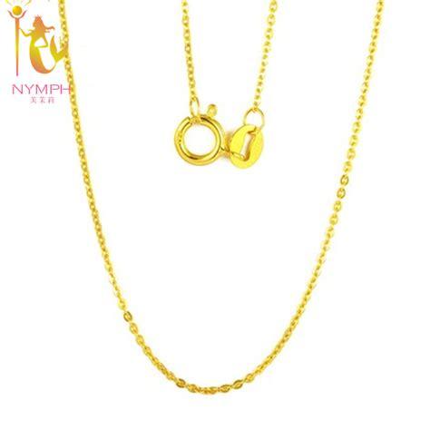 cadenas de oro venta online compra 18 k cadena de oro blanco online al por mayor de
