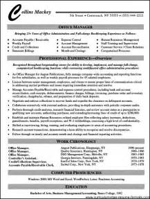 resume wording exles office manager resume wording free sles exles