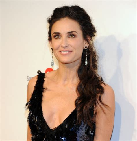 ponytail women over 60 demi moore s ponytail haute hairstyles for women over 50