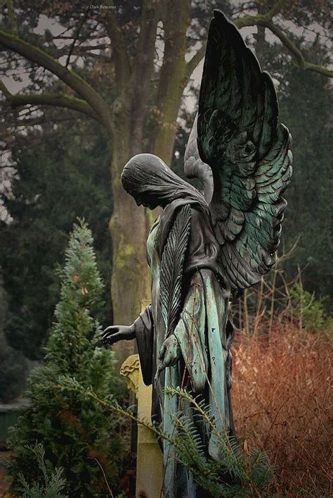 angel sculptures beautiful angel to watch over you cemetery angels modern