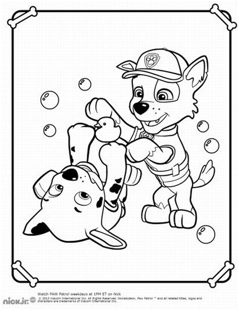 paw patrol printable coloring pages chase free coloring pages of paw patrol cat chase