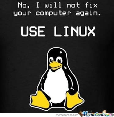 linux by delacriox meme center