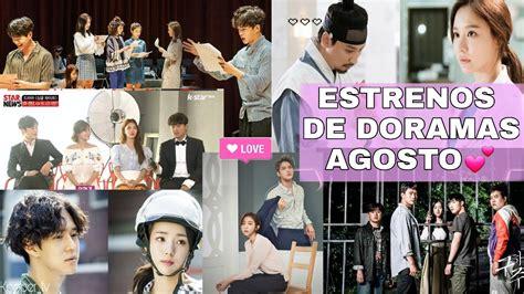 doramas coreanos 2013 estrenos youtube estrenos de doramas agosto 2017 youtube