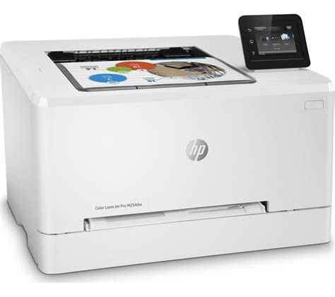 hp laser color printer buy hp colour laserjet pro m254dw wireless laser printer