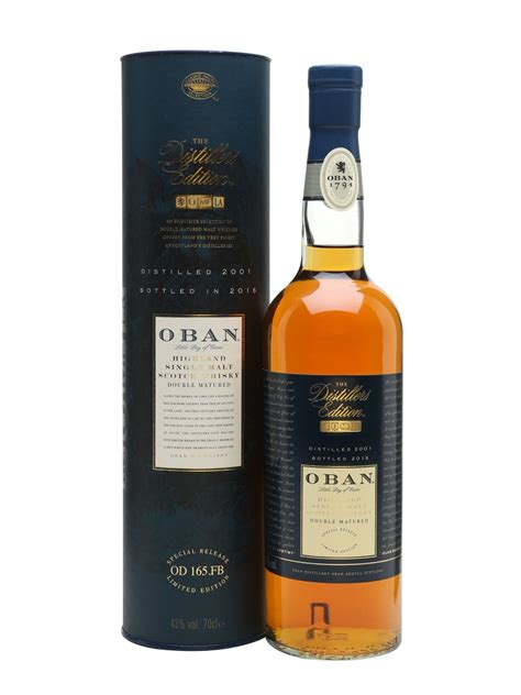 Orange Glasses by Oban 2001 Distillers Edition Scotch Whisky The Whisky