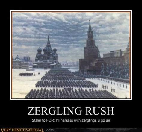 Zerg Rush Know Your Meme - image 110498 zerg rush know your meme