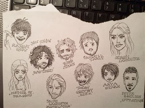 doodle of thrones of thrones fan doodles by ashiwa666