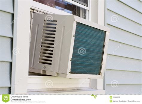 ac for room without windows window mounted air conditioner stock photo image 16488592