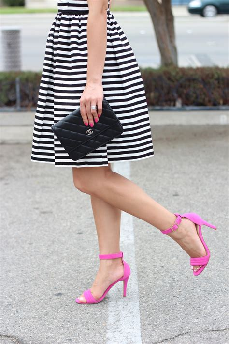 St Wedges Cross Striper Set Wedges Striper Vic kate spade striped vivien dress secret pink sandals plus 65 sale