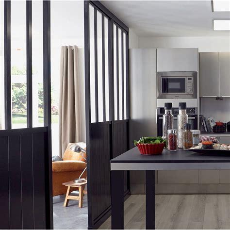 Beau Verriere Interieure Leroy Merlin #2: cloison-amovible-atelier-noir-h-240-x-l-80-cm.jpg