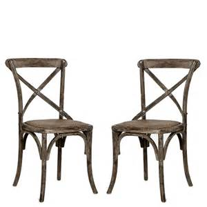 Distressed Bistro Chair Distressed Grey Cafe Chairs Antiqued Chairs Shabby Chic Chairs Chairs