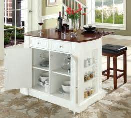 buy breakfast bar top kitchen island with square seat stools