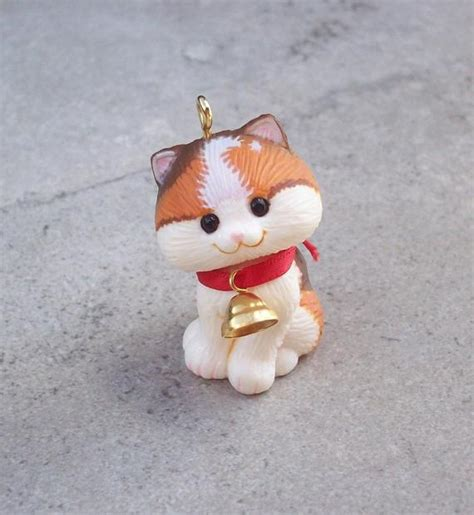 hallmark cat ornaments vintage kitten hallmark ornament 1982 hallmark kitten