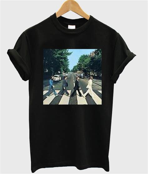 The Beatles Tees T Shirt the beatles road t shirt